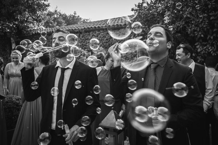 Fluxus fotografía divertida de bodas Galicia