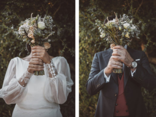 Fluxus fotografía de bodas divertidas Galicia